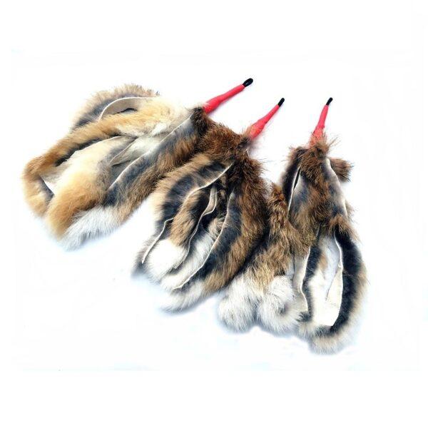 Purrs Cat Toys Wild Hare Chaser prooi navulling voor Purrsuit hengel - kattenspeeltje - hazenvacht