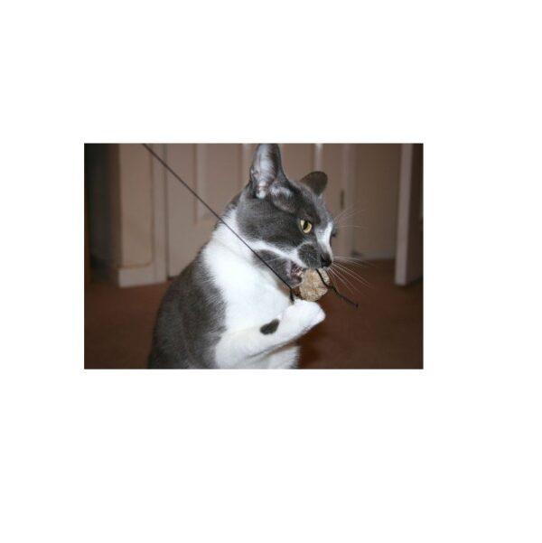 Purrs Cat Toys Mouse prooi navulling voor Purrsuit hengel - kattenspeeltje - muis