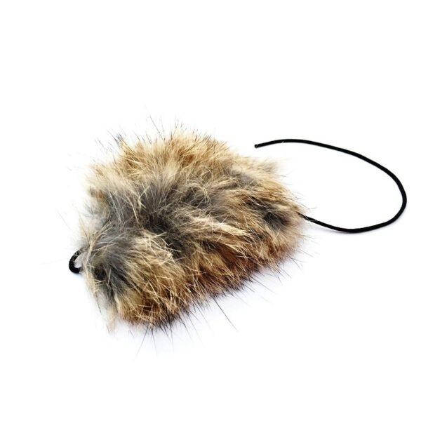 Purrs Cat Toys Wild Hare Mouse - prooi navulling voor kattenhengel - kattenspeeltje