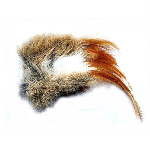 Purrs Wild Hare Stinky Puff Valerian - standalone prooi hazenvacht van Purrs met valeriaan - kattenspeeltje