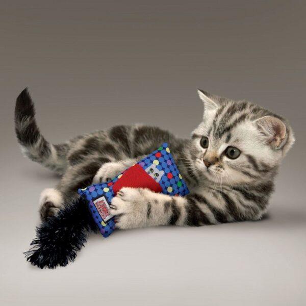 Kong Kickeroo Refillable met kattenkruid hervulbaar trappelkussen kattenspeeltje