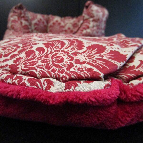 O'lala Pets - Petra rood kattenmand kattenkussen kattenbed