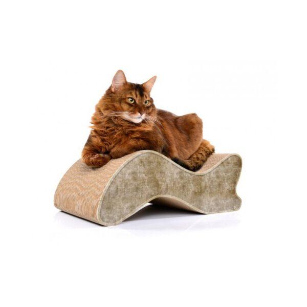 cat-on kabou scratcher kattenmeubel krabkarton krabben kat