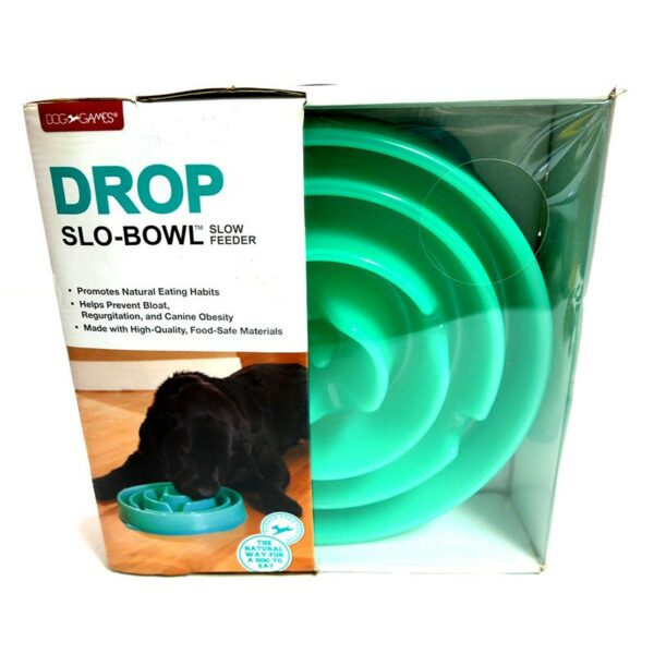 Dog Games slo-bowl Drop slow feeder voerpuzzel voor katten en honden