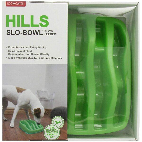 Dog Games slo-bowl Hills slow feeder voerpuzzel voor katten en honden