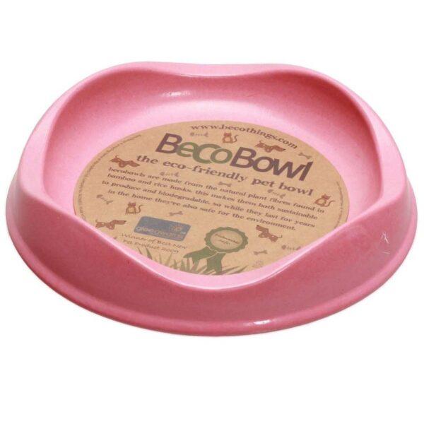 Beco Pets - Beco Bowl - Bamboo Bowl - kattenvriendelijke eetbak eetbakje milieuvriendelijk snorhaarvriendelijk