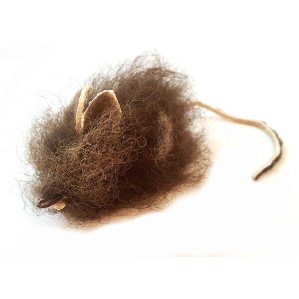 Purrs Cat Toys Buffalo Mouse prooi navulling voor hengels kattenhengel kattenspeeltje