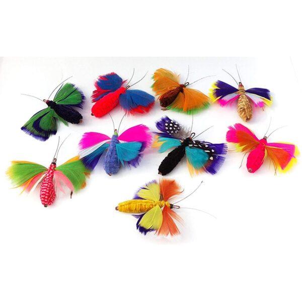 Purrs Cat Toys ButterMoth prooi navulling voor Purrsuit hengel - kattenspeeltje - vlinder - mot