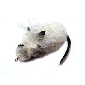 Purrs Cat Toys Fluffy Mouse prooi navulling voor Purrsuit hengel - kattenhengel kattenspeeltje - muis