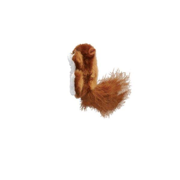 Kong Refillable Squirrel - hervulbaar kattenkruid kattenspeeltje catnip