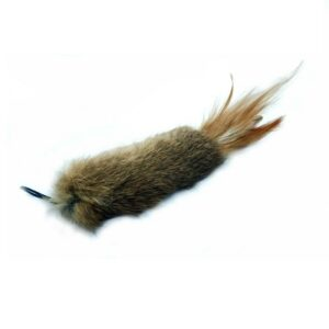 Purrs Wild Hare Raiser prooi navulling voor Purrsuit hengel - kattenspeeltje - kattenhengel - hazenvacht