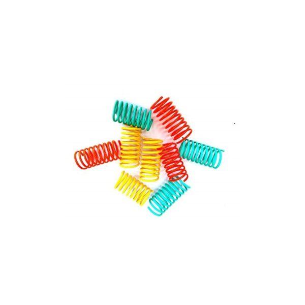 Purrs Cat Toys Flingie Springies - kleurrijke veertjes voor katten kattenspeeltje