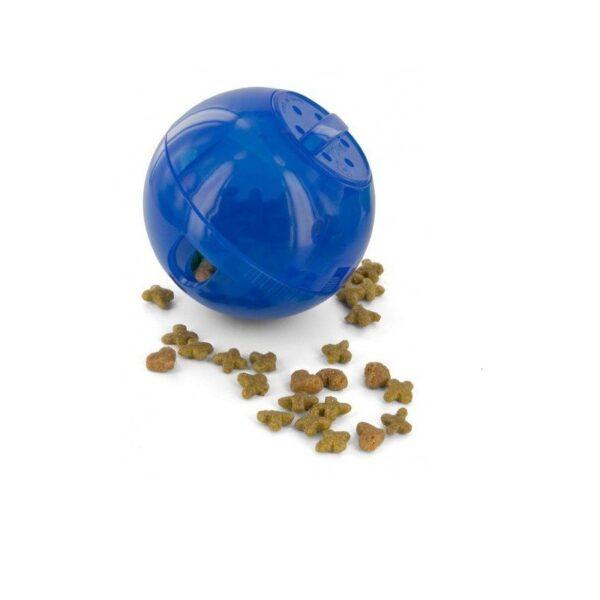 PetSafe - SlimCat blauw voerbal voerpuzzel voederpuzzel slowfeeder slow feeder