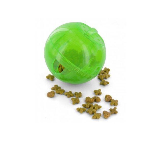 PetSafe - SlimCat groen voerbal voerpuzzel voederpuzzel slowfeeder slow feeder