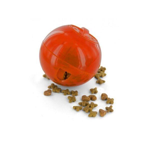 PetSafe - SlimCat rood voerbal voerpuzzel voederpuzzel slowfeeder slow feeder