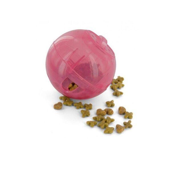 PetSafe - SlimCat roze voerbal voerpuzzel voederpuzzel slowfeeder slow feeder