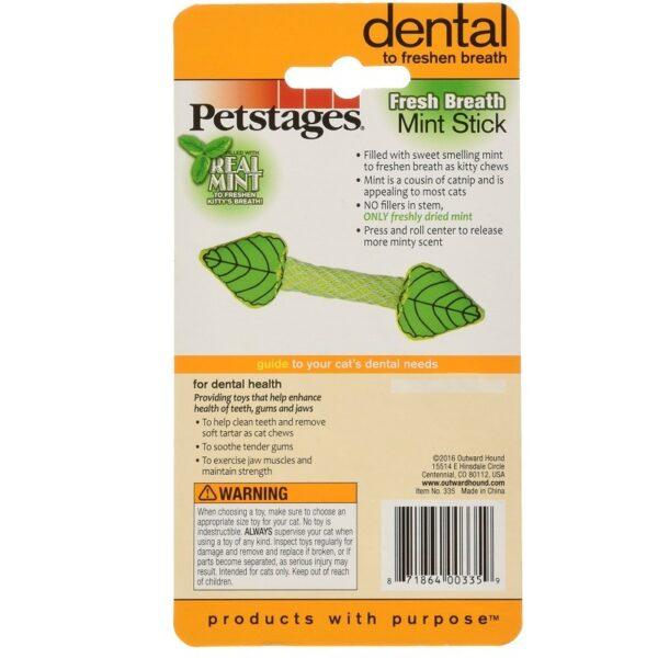 Petstages - Dental Fresh Breath Mint Stick munt gezondheid tanden
