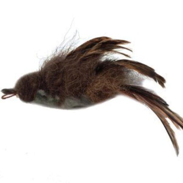 Purrs Cat Toys Buffalo Sparrow prooi navulling voor Purrsuit hengel - kattenspeeltje - kattenhengels