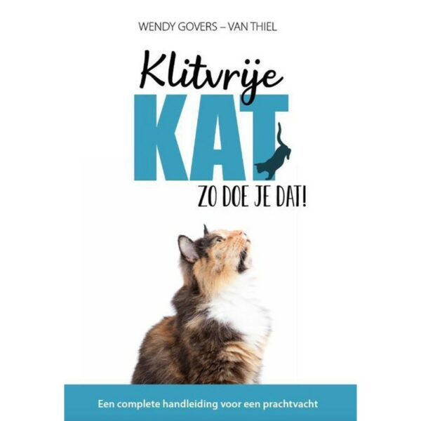 Klitvrije kat, zo doe je dat boek cover - Wendy Govers - Van Thiel