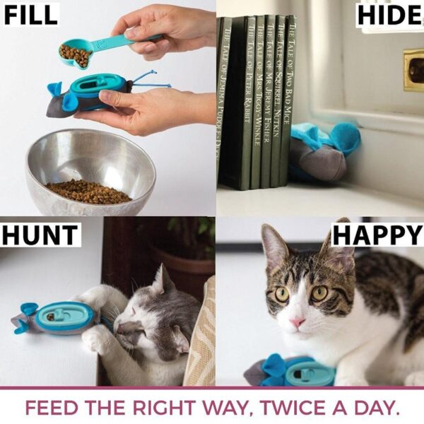 Doc & Phoebe's Indoor Hunting Feeder Instructies