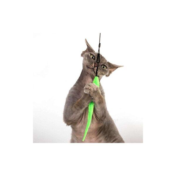 Tabby Tijger - Green Mamba prooi voor hengels kat