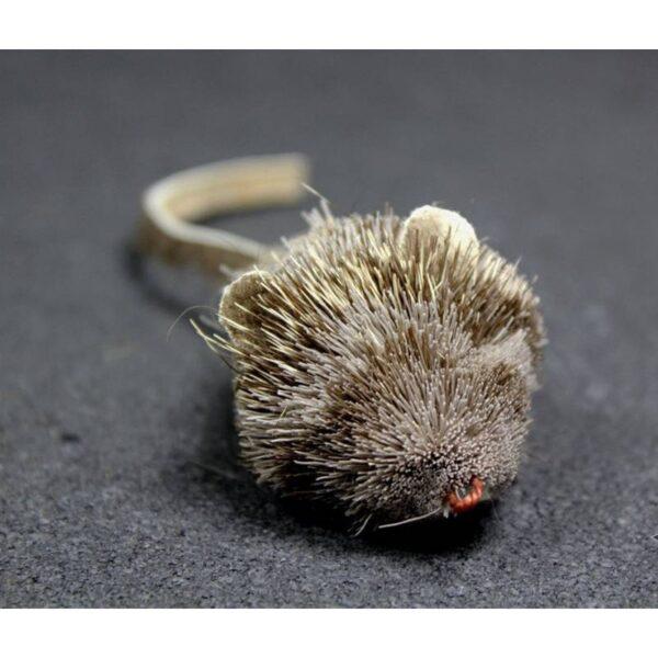 Tabby Tijger - Spitsmuis prooi voor hengels kattenspeeltje
