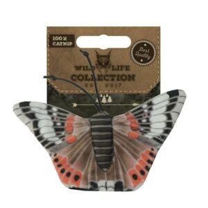 Wild Life Cat - Red Admiral Butterfly kattenspeeltje catnip