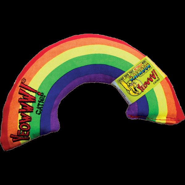 Yeowww! Rainbow met catnip kattenkruid speeltje