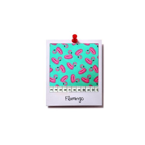 greenPAWS - Flamingo trappelkussen stof