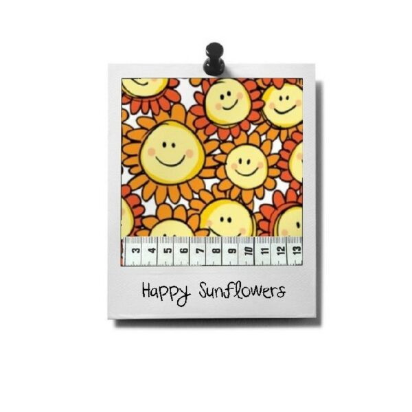 greenPAWS - Happy Sunflowers patroon stof