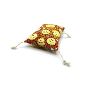 greenPAWS - Happy Sunflowers trappelkussen Cosy valeriaan en kattenkruid