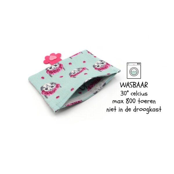 greenPAWS - Pink Kitty hervulbaar trappelkussen valeriaan en kattenkruid wasintructies
