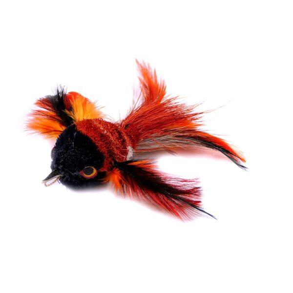 Tabby Tijger - Kolibrie prooi voor hengels