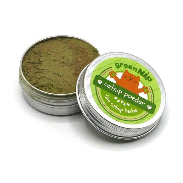 greenPAWS - catnip & valeriaan poeder - stimulerend en ontspannende kruiden voor katten