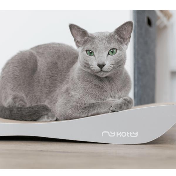 myKotty - TOBI - Grijs krabmeubel voor katten