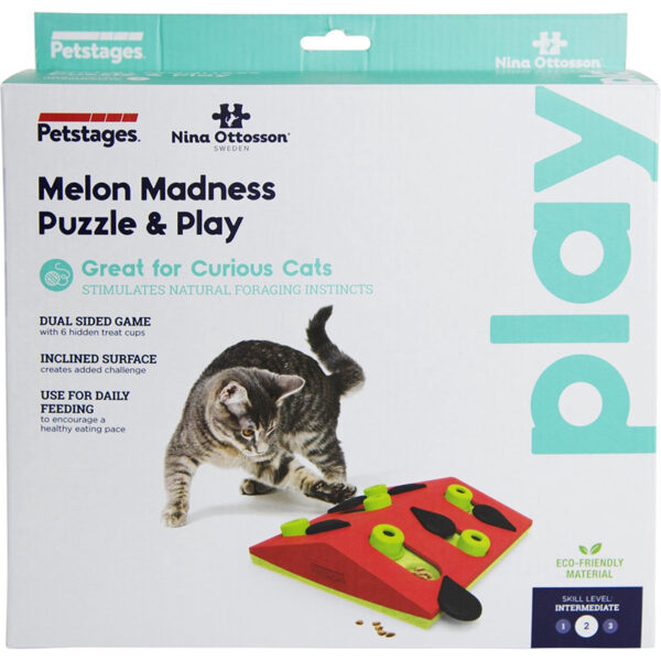 Petstages - Melon Madness Puzzle & Play verpakking